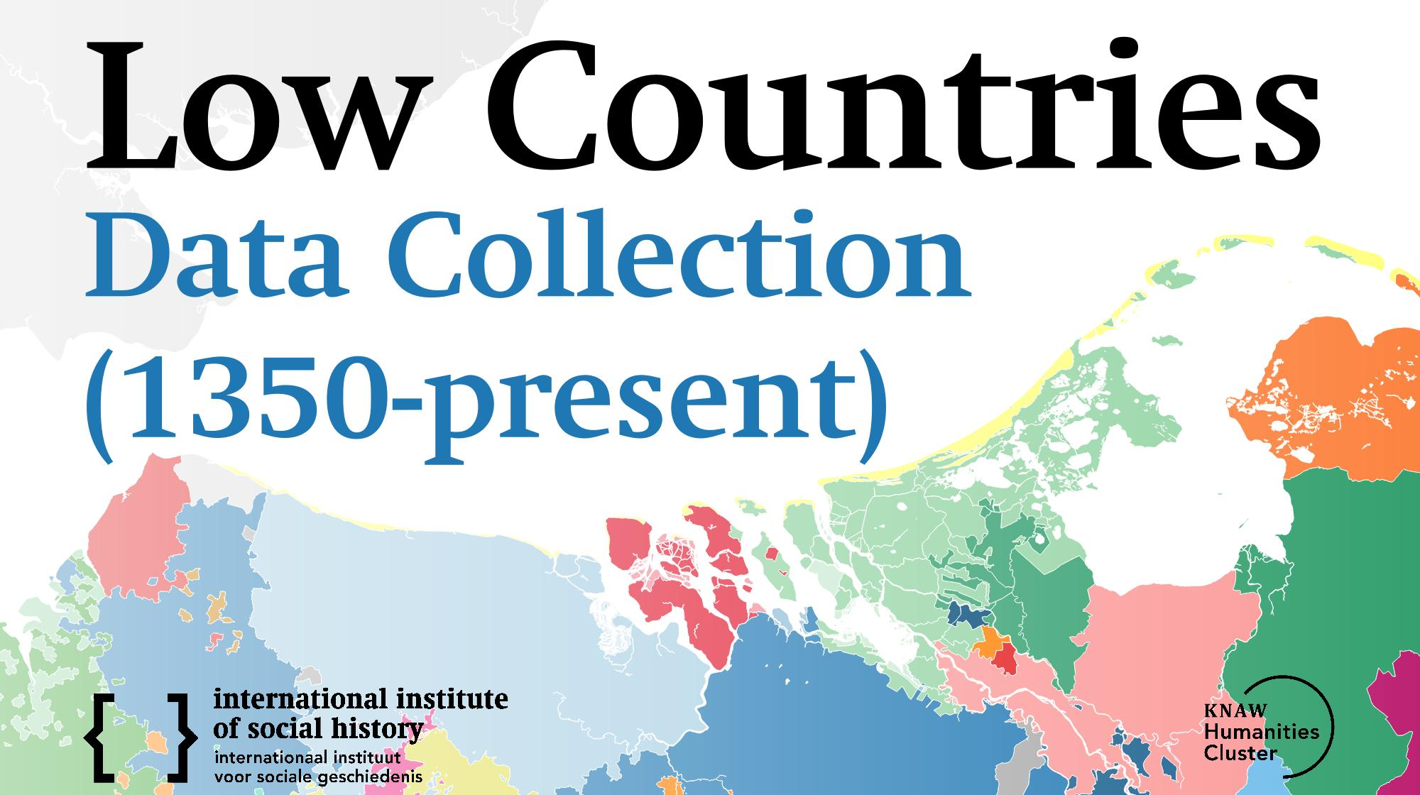 Low Countries Data Collection (1350-present)